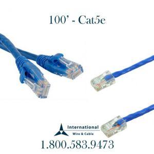 100' Cat5e Patch cord