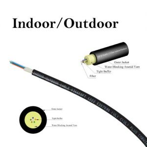 International Wire & Cable 50/125 Multimode OM3 Indoor/Outdoor Fiber ...