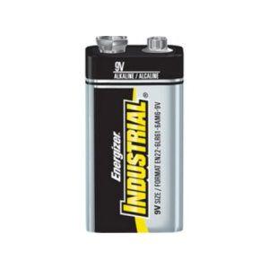 9 V Industrial Alkaline Batteries BULK (qty:72)