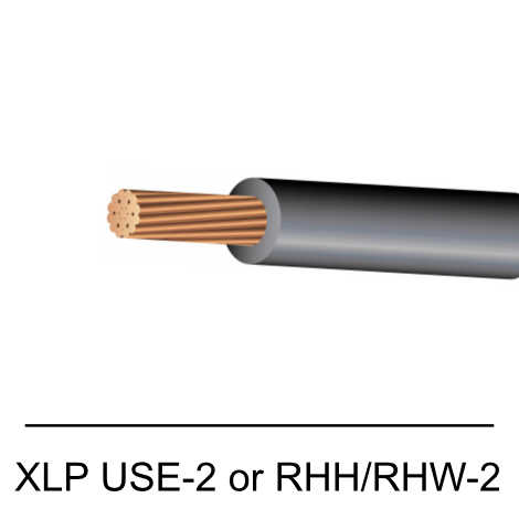 XLP USE-2 or RHH/RHW-2